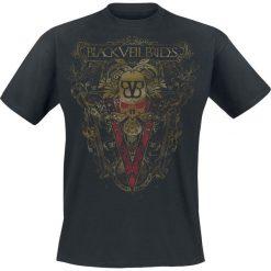 T-shirty męskie: Black Veil Brides Golden Ornament T-Shirt czarny