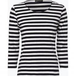 Marie Lund - Damska koszulka z długim rękawem – Coordinates, niebieski. Niebieskie t-shirty damskie Marie Lund, m, w prążki, z bawełny. Za 99,95 zł.