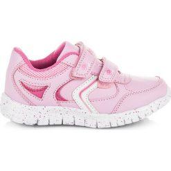 GEORGETTE różowe buciki na rzepy. Czerwone buciki niemowlęce American CLUB, na rzepy. Za 89,90 zł.
