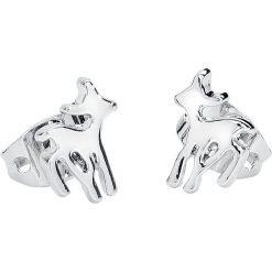 Kolczyki damskie: Bambi Disney by Couture Kingdom - Bambi Kolczyki - Earpin srebrny