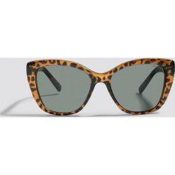 Okulary przeciwsłoneczne damskie aviatory: Cheap Monday Okulary przeciwsłoneczne Forever – Brown,Multicolor