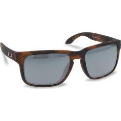 Okulary przeciwsłoneczne OAKLEY - Holbrook OO9102-F455 Matte Brown Tortoise/Prizm Black Iridium. Brązowe okulary przeciwsłoneczne damskie aviatory Oakley. W wyprzedaży za 479,00 zł.
