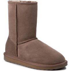 Buty EMU AUSTRALIA - Stinger Lo W10002 Mushroom. Brązowe buty zimowe damskie EMU Australia, z gumy. Za 729,00 zł.