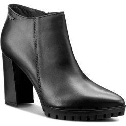 Botki OLEKSY - 364 575. Szare buty zimowe damskie marki Oleksy, ze skóry. W wyprzedaży za 259,00 zł.