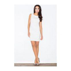 Sukienka Brendy M079 Ecru. Białe sukienki balowe marki NIFE. Za 99,00 zł.