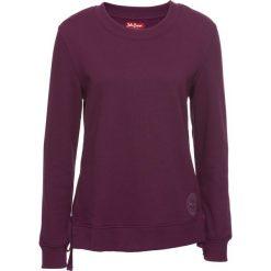 Bluzy damskie: Bluza ze sznurowaniem bonprix czarny bez