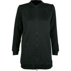 Bluzy rozpinane damskie: Bluza DEHA Czarny