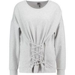 Bluzy rozpinane damskie: Vero Moda VMCORSI Bluza light grey melange