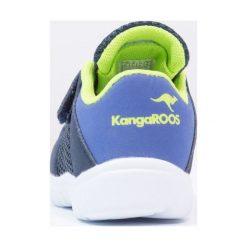 KangaROOS INLITE Tenisówki i Trampki dark navy/lime. Niebieskie trampki chłopięce KangaROOS, z materiału. Za 129,00 zł.