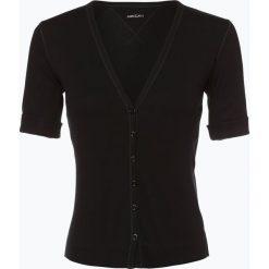 Bluzy rozpinane damskie: Marc Cain Essentials - Damska bluza rozpinana, czarny