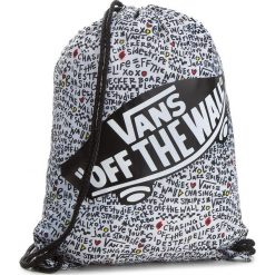 Plecak VANS - Benched Bag VN000SUFYEL Diy Scribble. Białe plecaki damskie Vans, z materiału, sportowe. Za 59,00 zł.