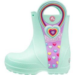 Crocs HANDLE IT GRAPHIC Kalosze mint. Różowe buty zimowe damskie marki Crocs, z materiału. Za 149,00 zł.