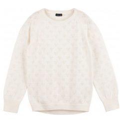 Swetry dziewczęce: Ażurowy sweter dla dziewczynki