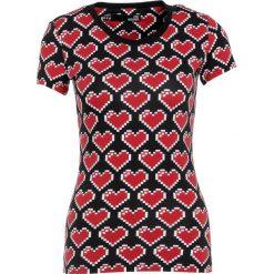 Odzież damska: Love Moschino Tshirt z nadrukiem black