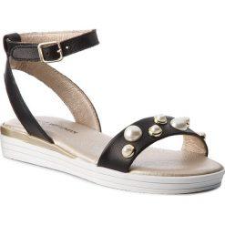 Sandały dziewczęce: Sandały STUART WEITZMAN – B182611 B-Black (Sauvage)