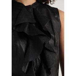 Bluzki asymetryczne: Ibana MARGARITA Bluzka black