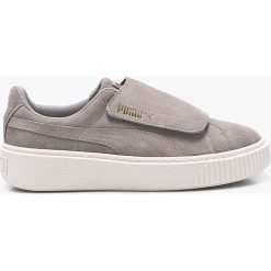 Buty sportowe dziewczęce: Puma – Buty dziecięce Suede Platform Strap Jr