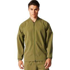 Bejsbolówki męskie: Adidas Bluza męska Z.N.E. Tracktop woven zielona r. XL (B49253)