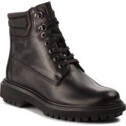 Trapery GEOX - A Asheely Np Abx D84AYC 00043 C9999 Black. Czarne buty zimowe damskie marki Geox, z materiału. W wyprzedaży za 489,00 zł.