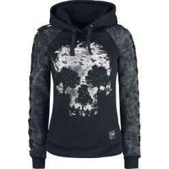 Black Premium by EMP Promises Bluza z kapturem damska czarny/szary. Czarne bluzy z kapturem damskie marki Black Premium by EMP, xl, z poliesteru. Za 224,90 zł.