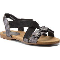 Sandały dziewczęce: Sandały NELLI BLU – CM170531-01 Czarny