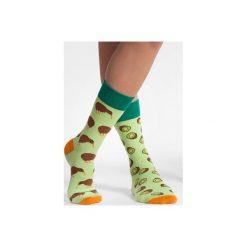 Kiwi - kolorowe skarpetki Spox Sox. Brązowe skarpetki męskie N/A, w kolorowe wzory. Za 20,00 zł.