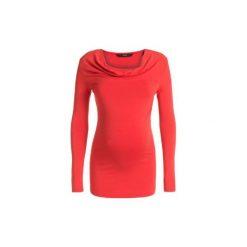 Noppies  Bluzka dla kobiet w ciąży HADA coral - czerwony. Czerwone bluzki ciążowe Noppies, z elastanu, z krótkim rękawem. Za 139,00 zł.