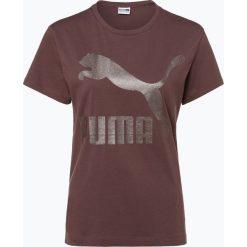 Puma - T-shirt damski, brązowy. Czerwone t-shirty damskie marki Puma, xl, z materiału. Za 139,95 zł.