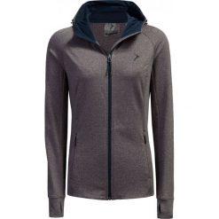 Bluza damska BLD604 - burgund melanż - Outhorn. Szare bluzy rozpinane damskie marki Outhorn, melanż, z bawełny. Za 119,99 zł.