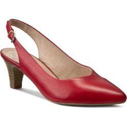 Rzymianki damskie: Sandały CAPRICE – 9-29600-26 Red Nappa 593