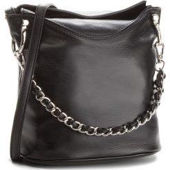 Torebka CREOLE - K10493  Czarny. Czarne torebki klasyczne damskie Creole, ze skóry, duże. W wyprzedaży za 179,00 zł.