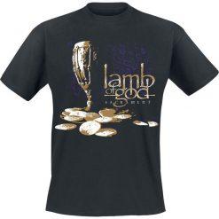 T-shirty męskie: Lamb Of God Sacrament Cover T-Shirt czarny
