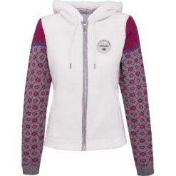 Bluzy rozpinane damskie: Bluza polarowa NAPAPIJRI TURSI Biały|Multikolor|Print