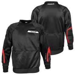 Bejsbolówki męskie: REUSCH Bluza męska FPT Shirt czarna r. XXL
