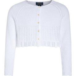 Swetry chłopięce: Polo Ralph Lauren SHRUG Kardigan white