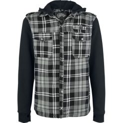 Vixxsin Quinn Jacket Koszula szary. Szare koszule męskie na spinki marki House, l, z bawełny. Za 184,90 zł.