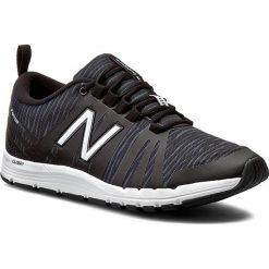 Buty NEW BALANCE - WX811BZ Czarny. Czarne buty do fitnessu damskie marki New Balance, z materiału. W wyprzedaży za 249,00 zł.