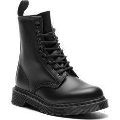 Glany DR. MARTENS - 1460 Mono 14353001 Black. Czarne buty zimowe damskie Dr. Martens, z materiału. Za 699,00 zł.