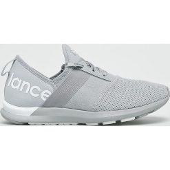 New Balance - Buty WXNRGTG. Szare buty sportowe damskie marki New Balance, z materiału. W wyprzedaży za 299,90 zł.