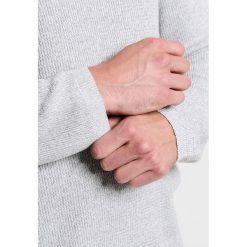 Swetry męskie: Selected Homme CREW NECK Sweter egret/light grey melange