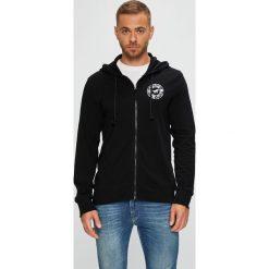 Mustang - Bluza. Czarne bluzy męskie rozpinane marki Mustang, l, z bawełny, z kapturem. Za 269,90 zł.