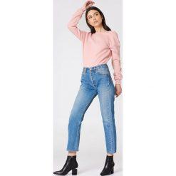 NA-KD Basic Sweter z głębokim dekoltem z tyłu - Pink. Różowe swetry klasyczne damskie marki NA-KD Basic, z bawełny. Za 80,95 zł.