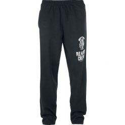 Sons Of Anarchy Reaper Crew Spodnie dresowe czarny. Czarne spodnie dresowe damskie Sons Of Anarchy, l, z nadrukiem, z dresówki. Za 79,90 zł.