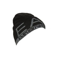 Czapki Emporio Armani EA7  TRAIN VISIBILITY M BEANIE. Czarne czapki zimowe męskie marki Emporio Armani EA7. Za 215,10 zł.