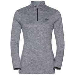 Odlo Bluza Odlo Midlayer 1/2 zip STEEZE                  - 222271 - 222271/15700/L. Szare bluzy sportowe damskie marki Odlo. Za 250,67 zł.