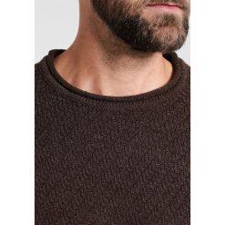 Swetry męskie: Pier One Sweter brown melange