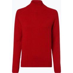 Marie Lund - Damski sweter z wełny merino, czerwony. Czerwone swetry klasyczne damskie Marie Lund, s, z dzianiny. Za 249,95 zł.