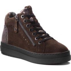 Sneakersy TAMARIS - 1-25218-21 Dk Olive Comb 775. Szare sneakersy damskie marki Tamaris, z materiału, na sznurówki. W wyprzedaży za 259,00 zł.