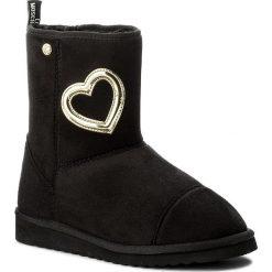 Buty LOVE MOSCHINO - JA24163H04JA0000 Nero. Czarne buty zimowe damskie marki Love Moschino, z materiału. W wyprzedaży za 419,00 zł.