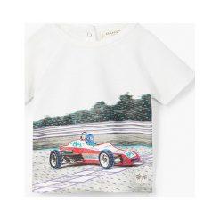 Odzież chłopięca: Mango Kids – T-shirt dziecięcy Michael 80-104 cm